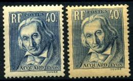 Y&T N° 295** - Unused Stamps