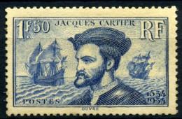 Y&T N° 296** - Unused Stamps