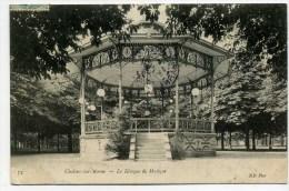 CPA   51  :  CHALONS  Le Kiosque De Musique   1905   VOIR  DESCRIPTIF   §§§§§ - Châlons-sur-Marne