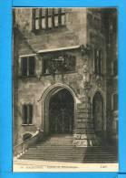 CP, 67, HAGUENAU, Entrée Du Bibliothèque, Vierge, TRES RARE - Haguenau