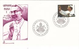 Vatican 1978 - In Memory Of Pope John Paul I (G43-63) - Papes