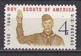 H1374 - ETATS UNIS UNITED STATES Yv N°679 ** SCOUTISME - Stati Uniti