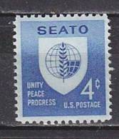H1381 - ETATS UNIS UNITED STATES Yv N°685 ** SEATO - Stati Uniti