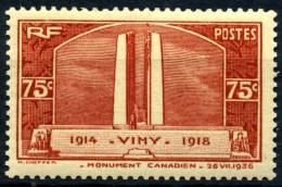 Y&T N° 316** - Unused Stamps
