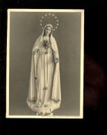FAYT LES MANAGE Hainault : Carte Photo Sainte Vierge Marie Par H Pétein De Fayt Les Manage - Manage