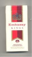 Etui De 10 Cigarettes  Embassy (made In Mauritus) Ile Maurice (hh) - Cigarettes - Accessoires