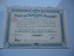 TONNELLERIE MODERNES (1959)HUSSEIN DEY- ALGERIE - Shareholdings
