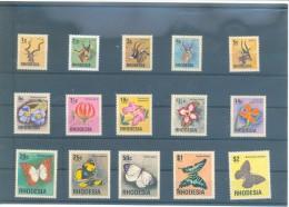 RHODESIA DEL NORTE 140/154 (15V) 1974 MICHEL - Rodesia Del Norte (...-1963)