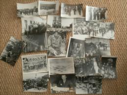 20 Photos De Presse Libération Légendées Au Dos - 1939-45