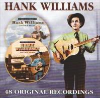 Hank WILLIAMS - 48 Original Recordings - 2 CD - Lovesick Blues - You Win Again - COUNTRY - HILLBILLY - Country & Folk