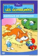 Les Schtroumpfs : Animaux De Compagnie (carte Pub Boomerang) - Bandes Dessinées