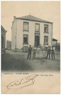 Lamorteau Rouvroy Maison Martin Edit Victor Caen Arlon Café Cachet 1906 - Rouvroy