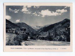 111 - V. CLAVEROL - VALLS D' ANDORRA  - 716 (type 2) - La MASSANA, Vista Parcial, Al Fons COMA PEDROSA - - Andorra