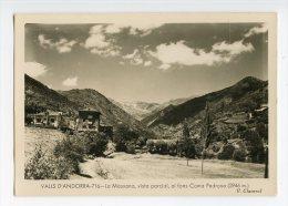 112 - V. CLAVEROL - VALLS D' ANDORRA  - 716 (type 3) - La MASSANA, Vista Parcial, Al Fons COMA PEDROSA - - Andorra