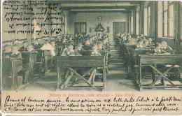 Maredsous Ahnée Abbaye Ecole Abbatiale Salle Etude Eleves Defauts Surface A G. Timbrée Thuin - Anhée