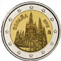 2 EUR 2012 - ESPAGNE UNC - Cathédrale De Burgos - Spain