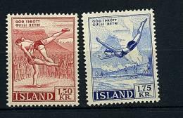 Islande ** N° 272/273 - Sports (lutte, Plongeon) Prix 1 € + Port - Unclassified