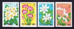 TUVALU  1978  , Royal Visit,   Y&T   #  80/3  Cv  2.50  E .  , ** M N H , V V F - Tuvalu