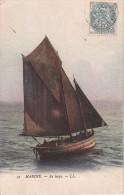 CPA Marine - Au Large - 1904 (1524) - Segelboote