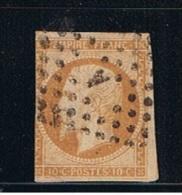 1853    //  10 Centime Bistre    //  N  13  A    //  Côte 12  €  // - 1853-1860 Napoleon III
