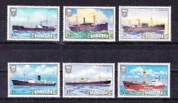 TUVALU  1984 , Ships    Y&T   #   217/2  ,  Cv  5.50  E .  , ** M N H , V V F - Tuvalu