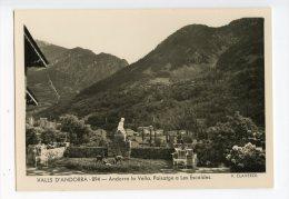 122 - V. CLAVEROL - VALLS D' ANDORRA  - 894 - ANDORRA La VELLA - Paisatge A Les ESCALDES - - Andorra