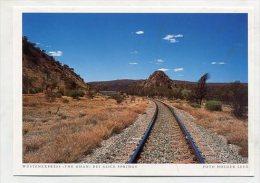 "AUSTRALIA - AK 191681 Wüstenexpress ""The Ghan"" Bei Alice Springs - Alice Springs"