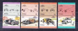 TUVALU  1985 , Autos  I  -   Y&T   #   339/54 ,  Cv  15.00  E .  , ** M N H , V V F - Tuvalu