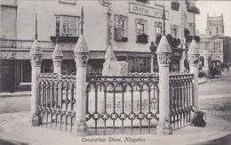 KINGSTON - CORONATION STONE. GRIFFIN HOTEL - Surrey