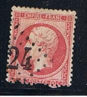 1862  //  80 C Rose  //  N 24   //  Côte 40 € - 1862 Napoleon III