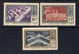 MAROC - N° 302/304* - HÔPITAUX - Morocco (1891-1956)