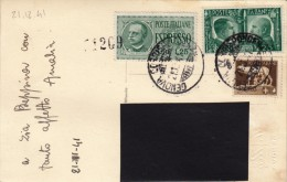 GENOVA 1941 - CARTOLINA FOTOGRAFICA ESPRESSO -  S2097 - Poststempel