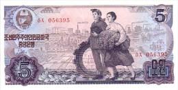 COREE DU NORD    5 Won  Emission De 1978   Pick 19 D         ***** BILLET  NEUF ***** - Corée Du Nord