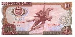 COREE DU NORD    10 Won  Emission De 1978   Pick 20 D         ***** BILLET  NEUF ***** - Korea, North