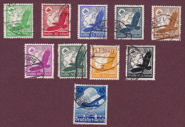 ALLEMAGNE - Poste Aérienne YT 43 à 51 - YT 54 - Airmail