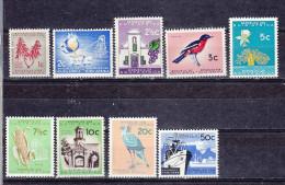 Afrique Du Sud - Zuid Afrika  Cat Y&T  Nr 265-273      (xx) - Afrique Du Sud (1961-...)