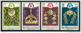 1975 Bahrein Gioielli Jewelry Bijoux Set MNH** Fo168 - Bahrein (1965-...)