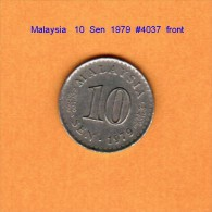 MALAYSIA   10  SEN  1979  (KM # 3) - Malaysia
