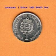 VENEZUELA   1  BOLIVAR  1986  (Y # 52) - Venezuela