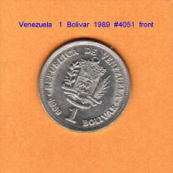 VENEZUELA   1  BOLIVAR  1989  (Y # 52a.1) - Venezuela