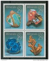 1992 Stati Uniti Minerali Minerals Minèraux Set MNH** Fo170 - Minerals