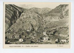 227 - V. CLAVEROL - VALLS D' ANDORRA  - 55 - CANILLO - Vista General - La Plaça - - Andorra