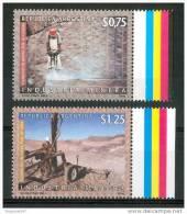 1997 Argentina Industria Mineraria Mining Industri Explorationi Minière Set MNH** Fo176 - Minerals
