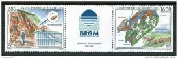 1995 Saint Pierre Et Miquelon Geologia Gèology Geologie Set MNH** Fo181 - Geographie