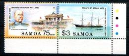 Samoa                      713/714  **  Bdf   Se Tenant - Samoa