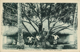 TAHITI - ETABLISSEMENTS FRANCAIS DE L OCEANIE - TAUTIRA CASE INDIGENE - Tahiti