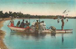 TAHITI - PAPEETE - PECHEURS TAHITIENS - Tahiti