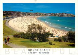 Bondi Beach, Sydney, NSW, Australia Postcard Used Posted To UK 2000 Stamp - Sydney