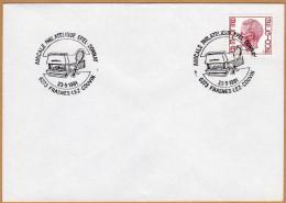 Enveloppe Cover Brief Elström 1646 Frasnes-lez-Couvin - Cartas
