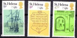 Saint Helena, 1980, SG 362 - 364, Set Of 3, MNH - Saint Helena Island